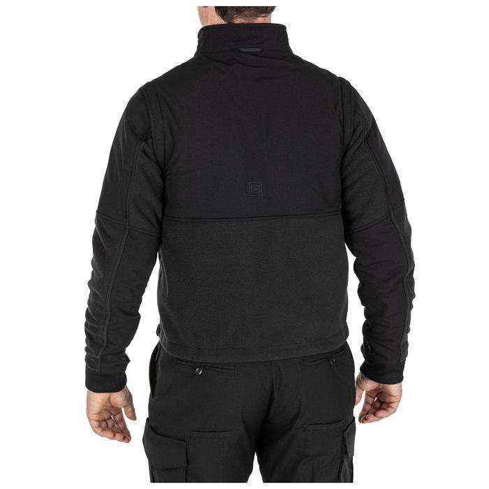 軍用 5.11 ファイブイレブン タクティカル デューティー ジャケット 2.0 ブラック Sサイズ 48360 全天候・防寒 5 in 1 JACKET 2.0