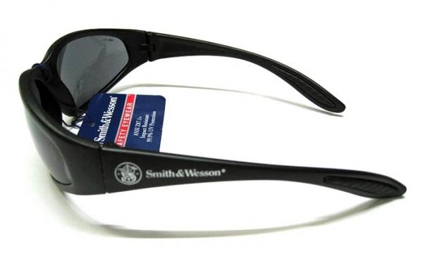 スミス&ウェッソン S&W 38スペシャル ブラック 防弾サングラス 【レターパックプラス便配送可】