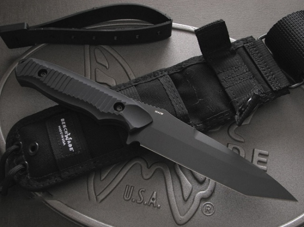 ベンチメイド/BENCHMADE 141BKニムラバス タントー ナイフ 直刃・黒