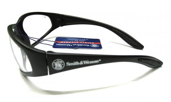スミス&ウェッソン S&W 38スペシャル クリア 防弾サングラス 【レターパックプラス便配送可】
