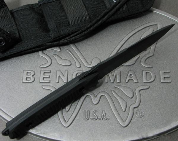 ベンチメイド/BENCHMADE 140SBKニムラバス ナイフ コンビ刃・黒