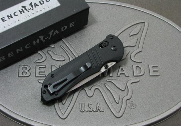 ベンチメイド #917 タクティカル トリアージ シルバー直刃/ブラックハンドル,BENCHMADE
