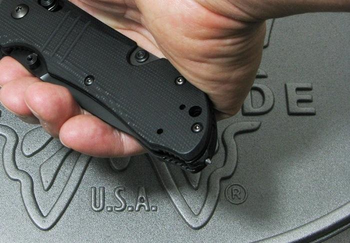 ベンチメイド 917BK タクティカル トリアージ ブラック 直刃 ,折り畳みナイフ ,BENCHMADE Tactical Triage【日本正規品】