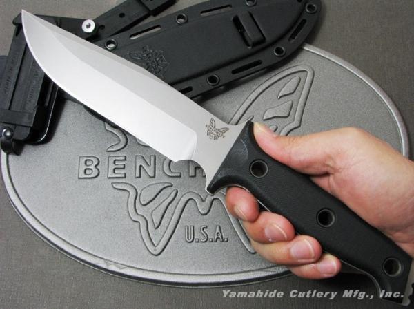 BENCHMADE/ベンチメイド #119 ARVENSIS アベンシス /シルバー直刃 ナイフ