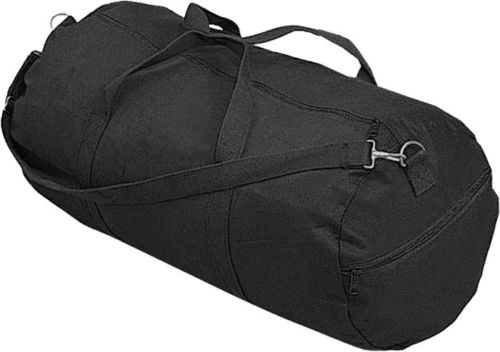 ■■ロスコ/ROTHCO 24インチ 大型 ボストン ショルダー ダッフル バッグ バック ブラック 2224  Canvas Shoulder Duffle Bag