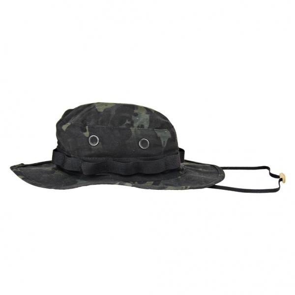 トゥルースペック TRU-SPEC ブーニー ハット 帽子 マルチカム ブラック 迷彩 3320 M 【メール便配送可】