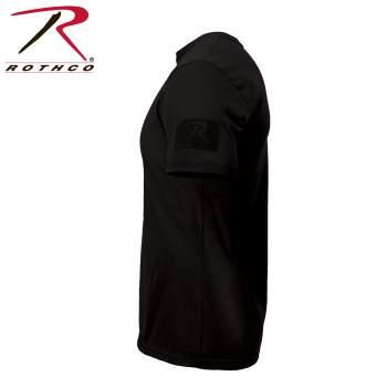 【正規品】ロスコ タクティカル アスレチック フィット Tシャツ ブラック Sサイズ ショートスリーブ ポリエステル 1656【メール便配送可】
