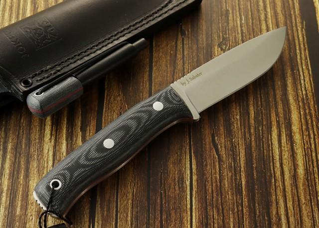 ジョーカー CM111-P リンクス ファイヤースチール付 ブッシュクラフトナイフ,Joker LYNX Bushcraft Knife