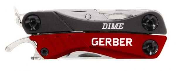ガーバー GERBER DIME レッドマルチツール マルチプライヤー G0417