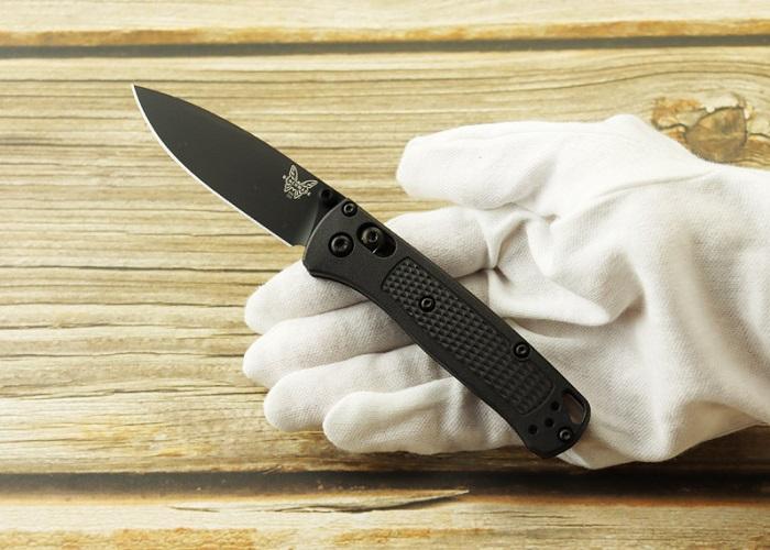 ベンチメイド 533BK-2 ミニ バグアウト ブラック 折り畳みナイフ,BENCHMADE MINI BUGOUT Folding Knife