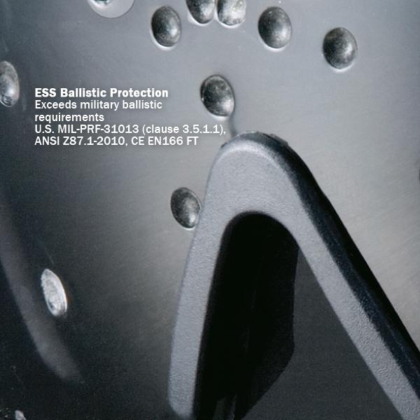 ESS/タクティカル プロファイル NVG ゴーグル アジアンフィット ゴーグル 防弾