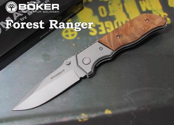 ボーカー マグナム 01MB233 フォレストレンジャー,折り畳みナイフ,BOKER Magnum Forest Ranger folding knife【メール便配送可】