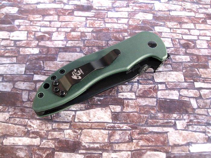 カーショウ KERSHAW 8750BLKBW シャッフル2 折り畳み ナイフ 8Cr13MoV鋼/GFNハンドル Shuffle II knife【レターパック配送可】