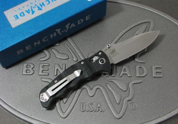ベンチメイド/BENCHMADE 484 Axis Folder Nakamura 直刃 ナイフ
