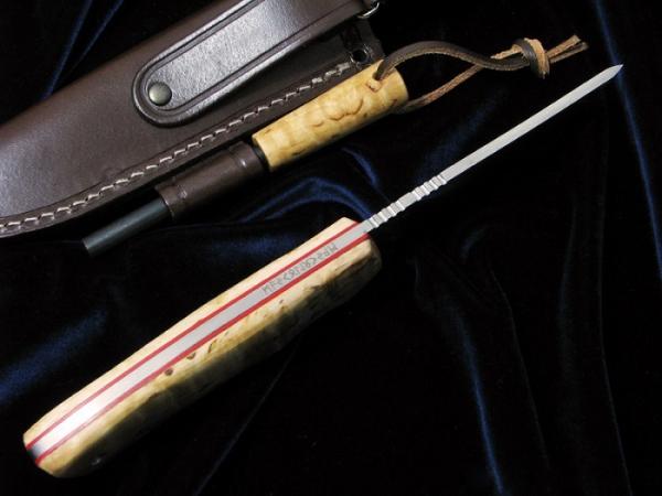 Muela/ムエラ VIKING.M-11B.M バイキング ファイヤースターター付 シースナイフ