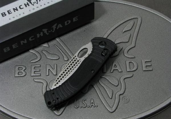 ベンチメイド 737 シルバー直刃 折り畳みナイフ,BENCHMADE