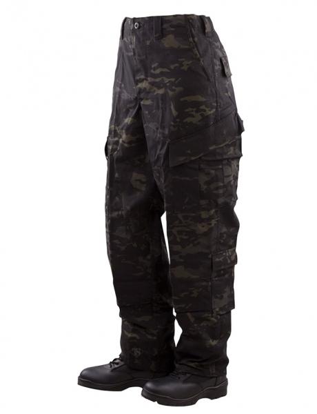 トゥルースペック/TRU-SPEC レスポンス ユニホーム パンツ マルチカム ブラック SS