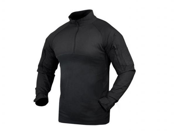 コンドル/CONDOR CombatShirt コンバット シャツ ブラック 【レターパックプラス便送料無料】