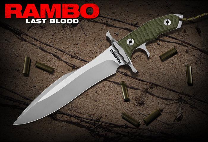 新型 ランボー 5/RAMBO ラスト・ブラッド ハートストッパー ナイフ RB5 シリアルナンバー付 初回ロット 5000本限定品 Last Blood Heartstopper