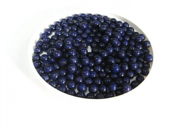 6mm エアガン用 ペイントボール ダークブルー(藍色) 200コ