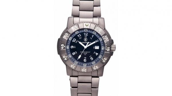 スミス&ウェッソン/S&W ウォッチ エグゼクティブ H3 発光トリチウム 腕時計 SW357T-BLK