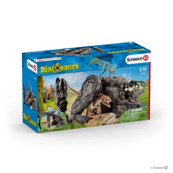 Schleich (シュライヒ) 恐竜たちの洞窟プレイセット 41461【送料無料】