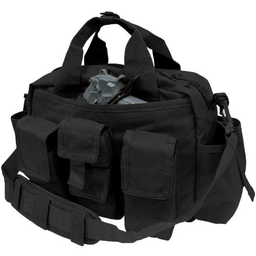 コンドル/CONDOR  タクティカル レスポンス バッグ ブラック 136