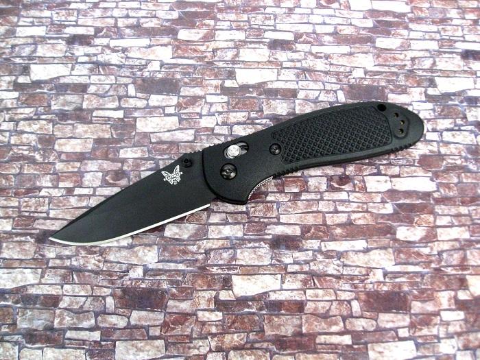 ベンチメイド 551BK-S30V グリップティリアン ブラック直刃,ブラックハンドル,折り畳みナイフ ,BENCHMADE Griptilian