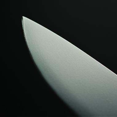 ファルクニーベン/FALLKNIVEN F1bz VG10 ブラック コンベックスグラインド ナイフ