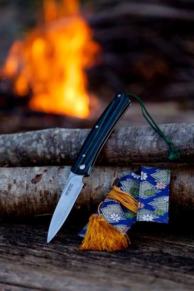 エムカスタ/MCUSTA フリクション 緑黒 フォルダー ハンドル VG-10 折りたたみナイフ