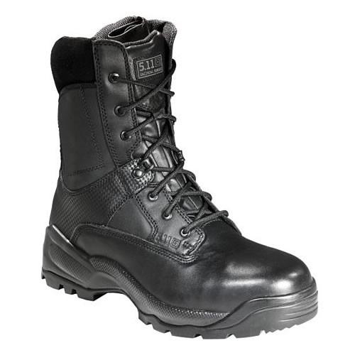 軍・法的機関用 5.11 ファイブイレブン タクティカル ASTM シールド8 9W 27cm サイドジッパーブーツ ワイド仕様 防水/安全靴