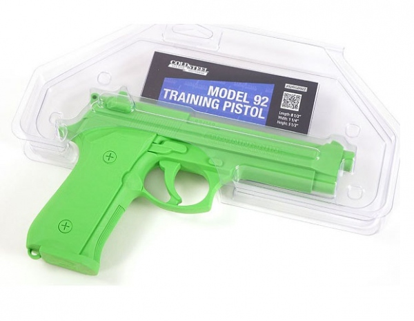 コールドスチール/COLD STEEL トレーニング樹脂製 ピストル 拳銃 ベレッタ M92 CS92RGB92Z 【レターパックプラス便配送可】