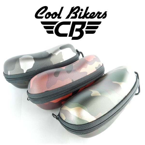【メール便】クールバイカーズ COOLBIKERS サングラス オリジナル ケース カモフラージュ