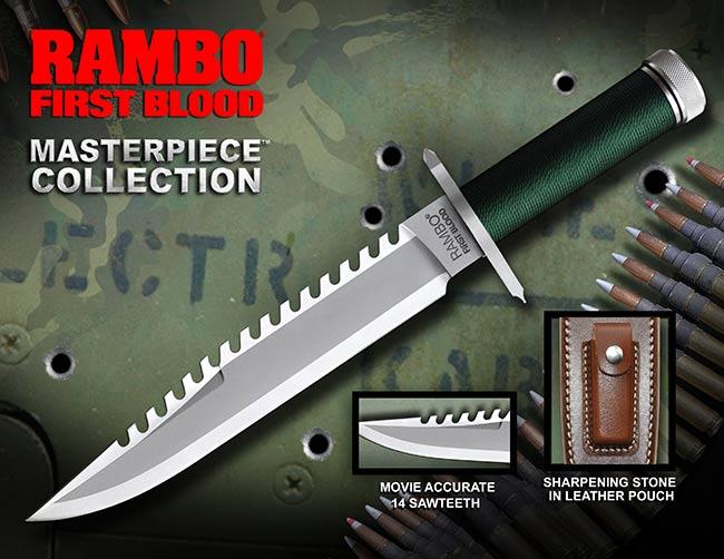 ランボー/RAMBO I  ファーストブラッド サバイバルナイフ RB1 (ミリタリー,グッズ)