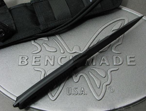 ベンチメイド/BENCHMADE 140BKニムラバス ナイフ 直刃・黒