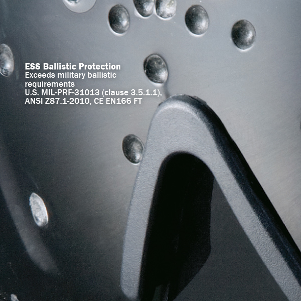 ESS/プロファイル NVG ゴーグル アジアンフィット ゴーグル 交換レンズ スモーク