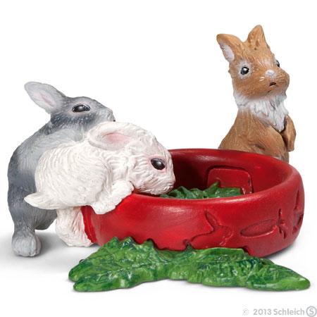 Schleich (シュライヒ)  ウサギ (仔) 13725 (動物,フィギュア)