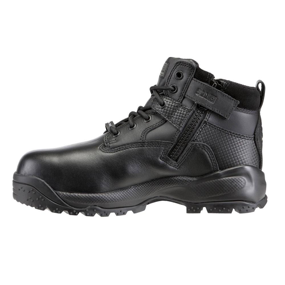 軍用 5.11 ファイブイレブン タクティカル ASTM シールド6 サイドジッパーブーツ ワイド仕様 防水/安全靴 (26cm/8インチ)