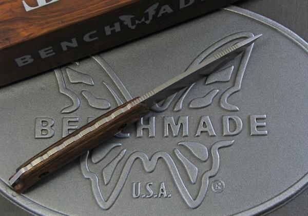ベンチメイド/BENCHMADE ハント 15001-2 Saddle Mountain Skinner サドル・マウンテン スキナー /ディモンド・ウッド  ナイフ【日本正規品】