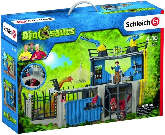 Schleich (シュライヒ) 恐竜 ダイノリサーチステーション 41462