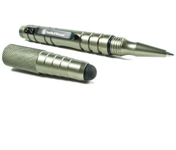スミス&ウェッソン/S&W タクティカルペン3 スタイラス仕様 シルバー