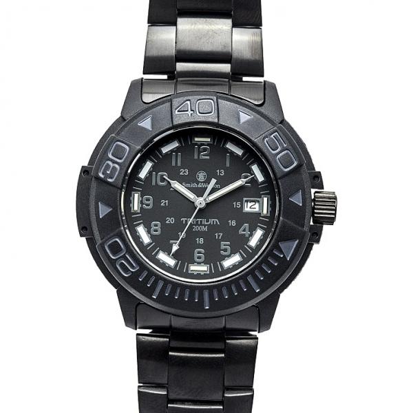 スミス&ウェッソン/S&W  DIVER ダイバー  ウォッチ 発光トリチウム 腕時計 SW900BK