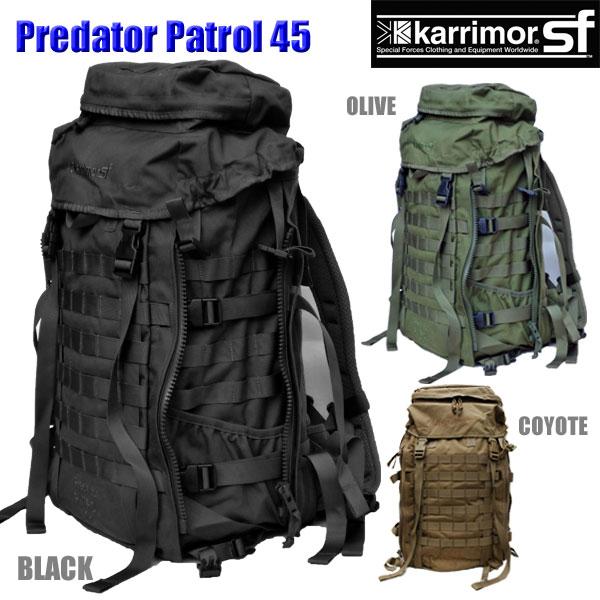 カリマー SF プレデター パトロール 45 バックパック バッグ コヨーテ karrimor SF Predator Patrol 45