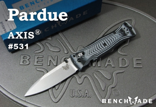 ベンチメイド/BENCHMADE 531 Axis Pardue Design 直刃 ナイフ