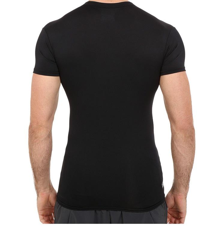 軍用 アンダーアーマー/Under Armour タクティカル コンプレッション ミリタリーTシャツ Lサイズ ブラック  ヒートギア HEAT GEAR 【メール便配送可】
