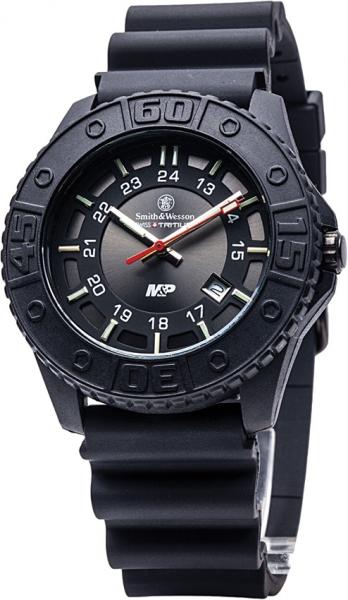 スミス&ウェッソン S&W M&P ウォッチ 発光トリチウム 腕時計 SWMP18bk
