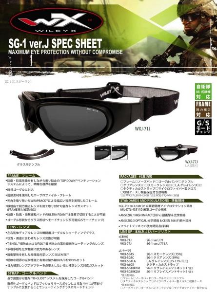 【取寄せ】【ワイリーエックス/WILEY X SG-1 サングラス フィッティングキット(部品のみ)