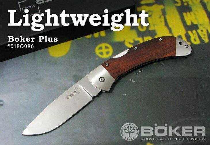 BOKER Plus/ボーカー プラス 01BO086 3000 ライトウェイト/ココボロ 折り畳みナイフ   【レターパックプラス配送可】