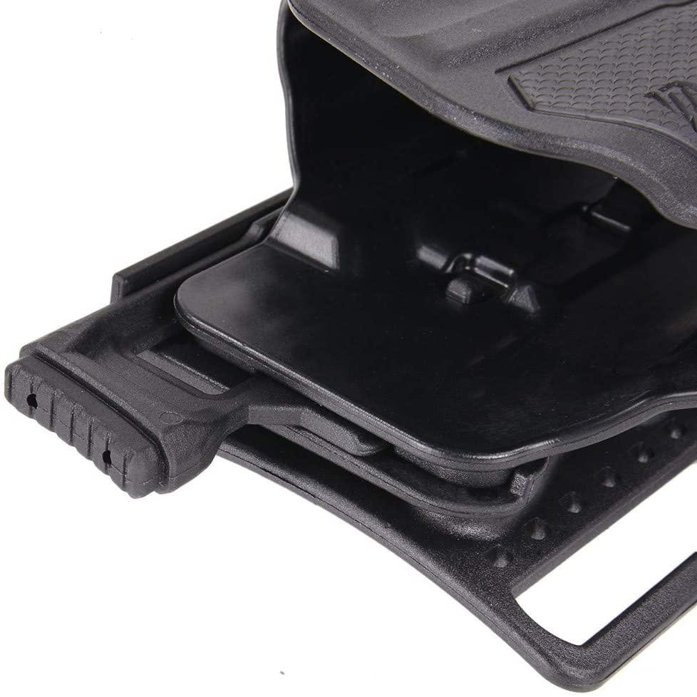 ブラックホーク/BLACKHAWK 右利き マルチフィットホルスター オムニボア ブラック 150種類以上の銃に対応 Omnivore【送料無料】