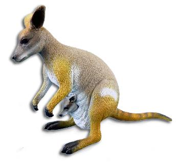 サイエンス&ネイチャー オーストラリア ワラビー(イワワラビー) 75451 (動物,フィギュア)